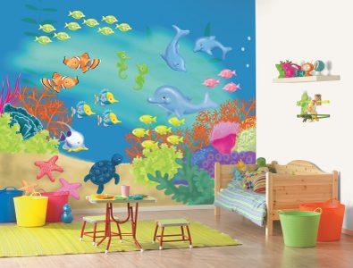 bebek odaları için duvar kağıtları