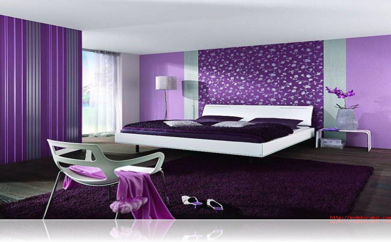 duvar kağıdı yatak odası için