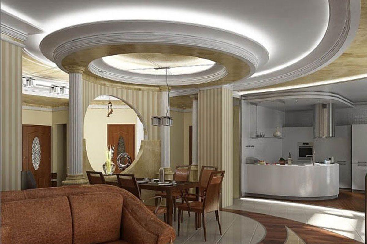 Çarpıcı Mutfak Tavan Tasarımları 2019