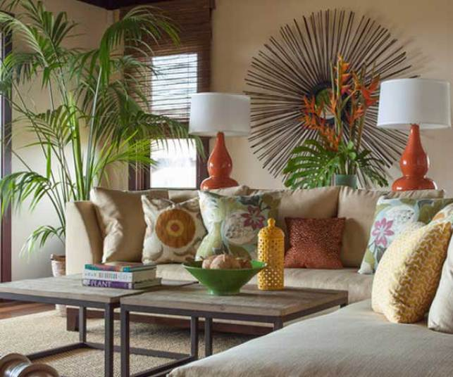 tropikal esintili salon