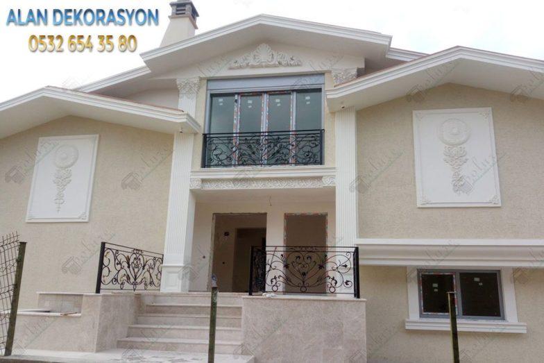 villa dış cephe dekorasyonları6