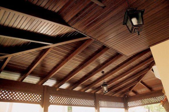 ahşap çatı uygulaması