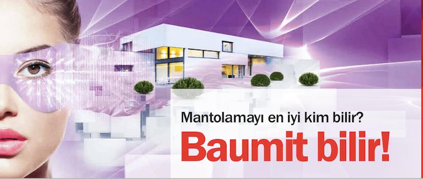 baumit mantolama