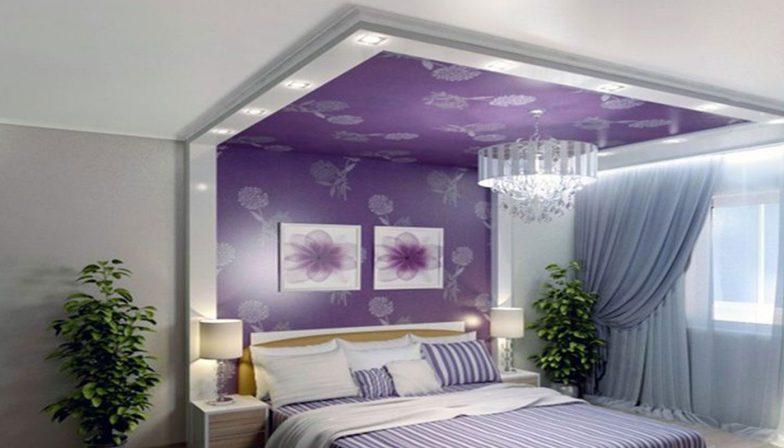 yatak odası için asma tavan 3