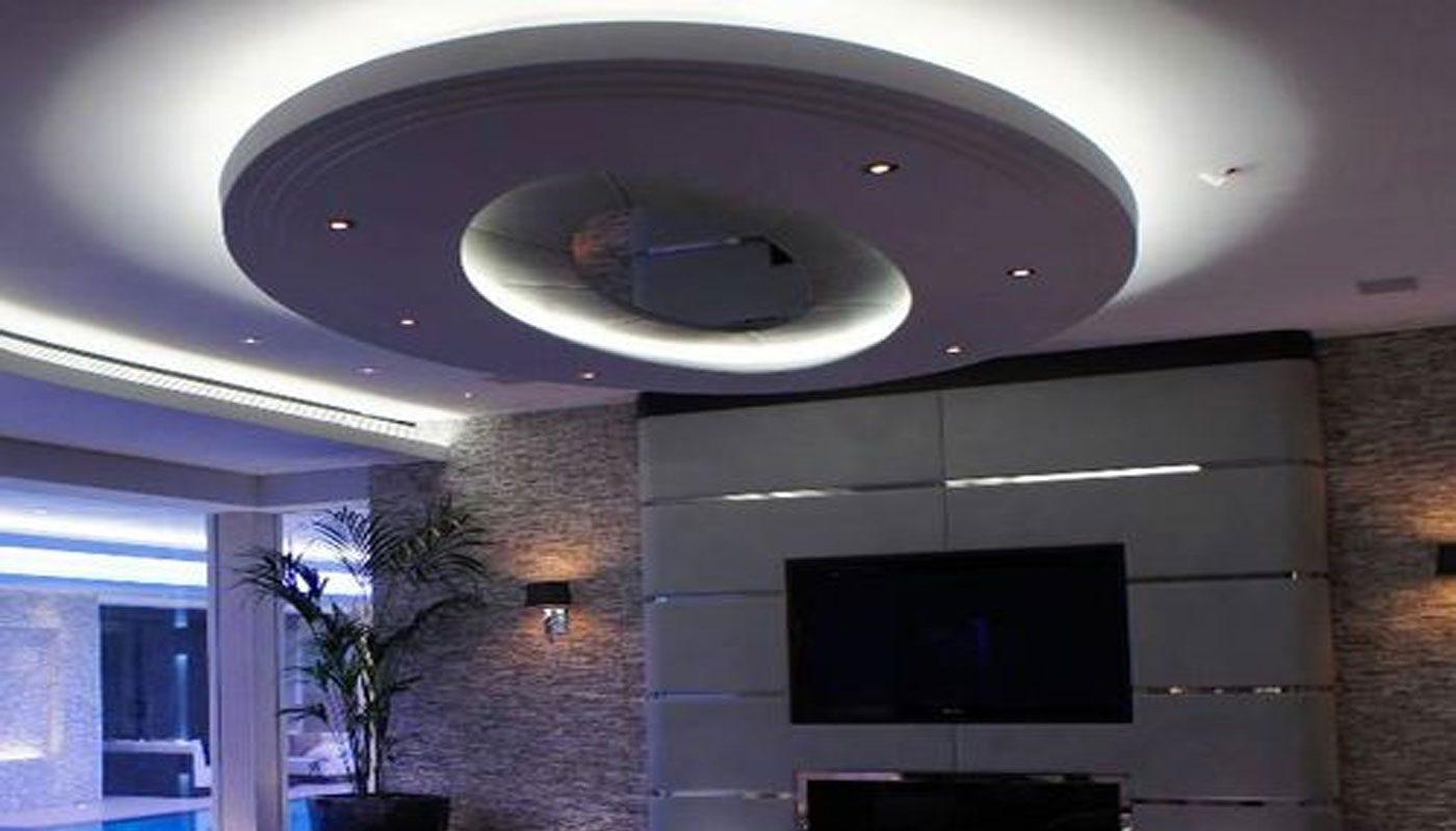 yatak odası için asma tavan 9