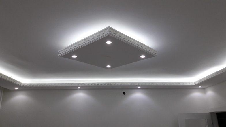 led ışıklı tavan