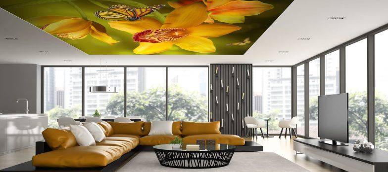 dekoratif gergi tavan