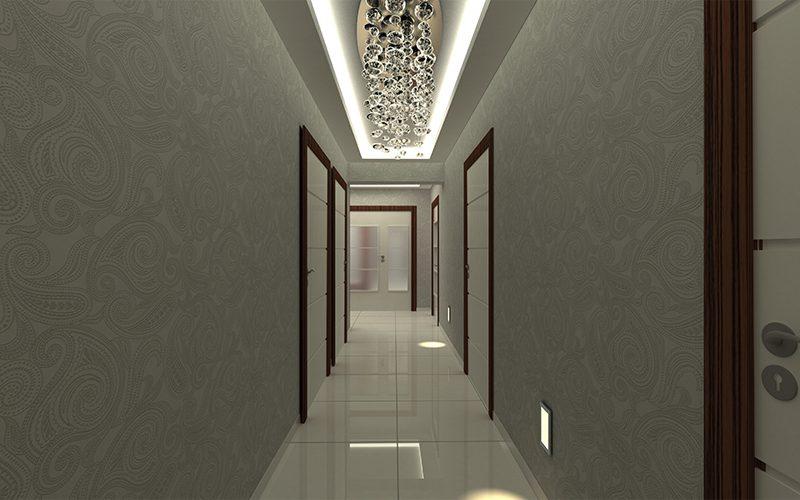koridor asma tavan
