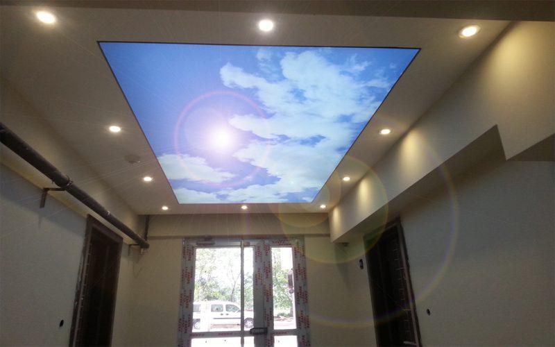 koridor tavan dekorasyon