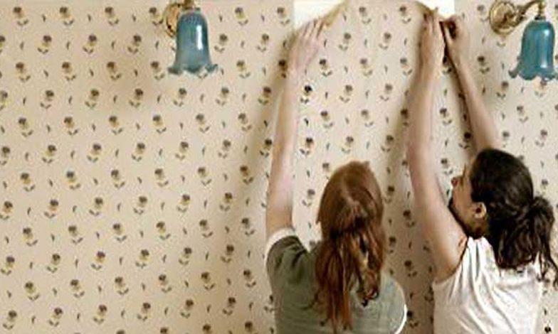 duvar kağıdını sökmek