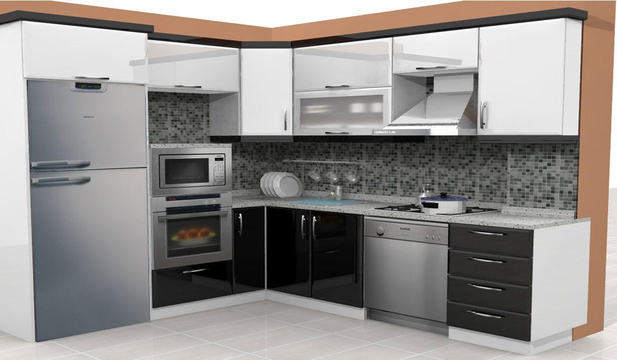 laminat mutfak dolabı 1