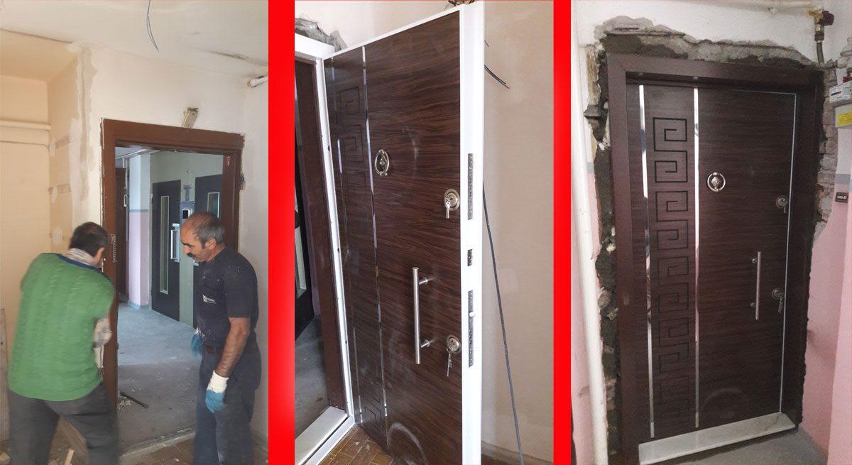 çelik kapı montaj