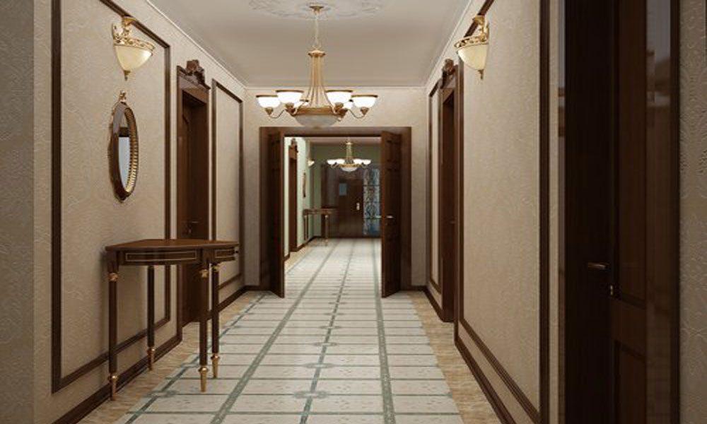 Otel koridorları 1