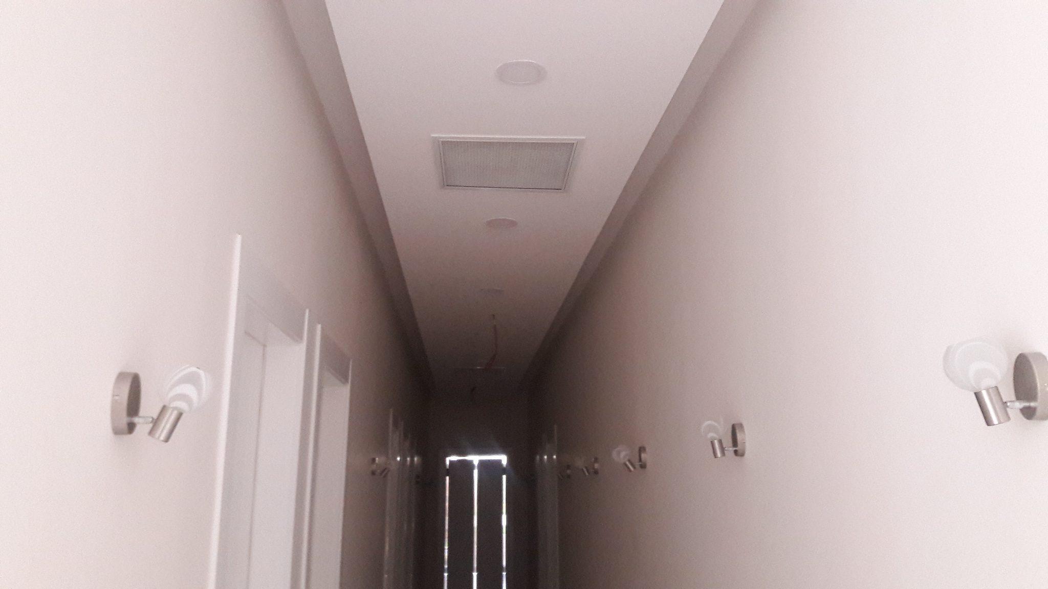 Koridor dekorasyon çalışması