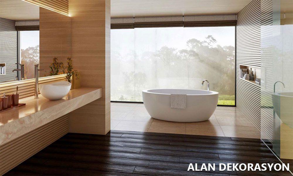 Banyolarda farklı tasarım çalışmaları