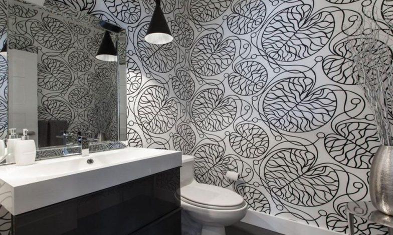 desenli duvar kağıdı modeli
