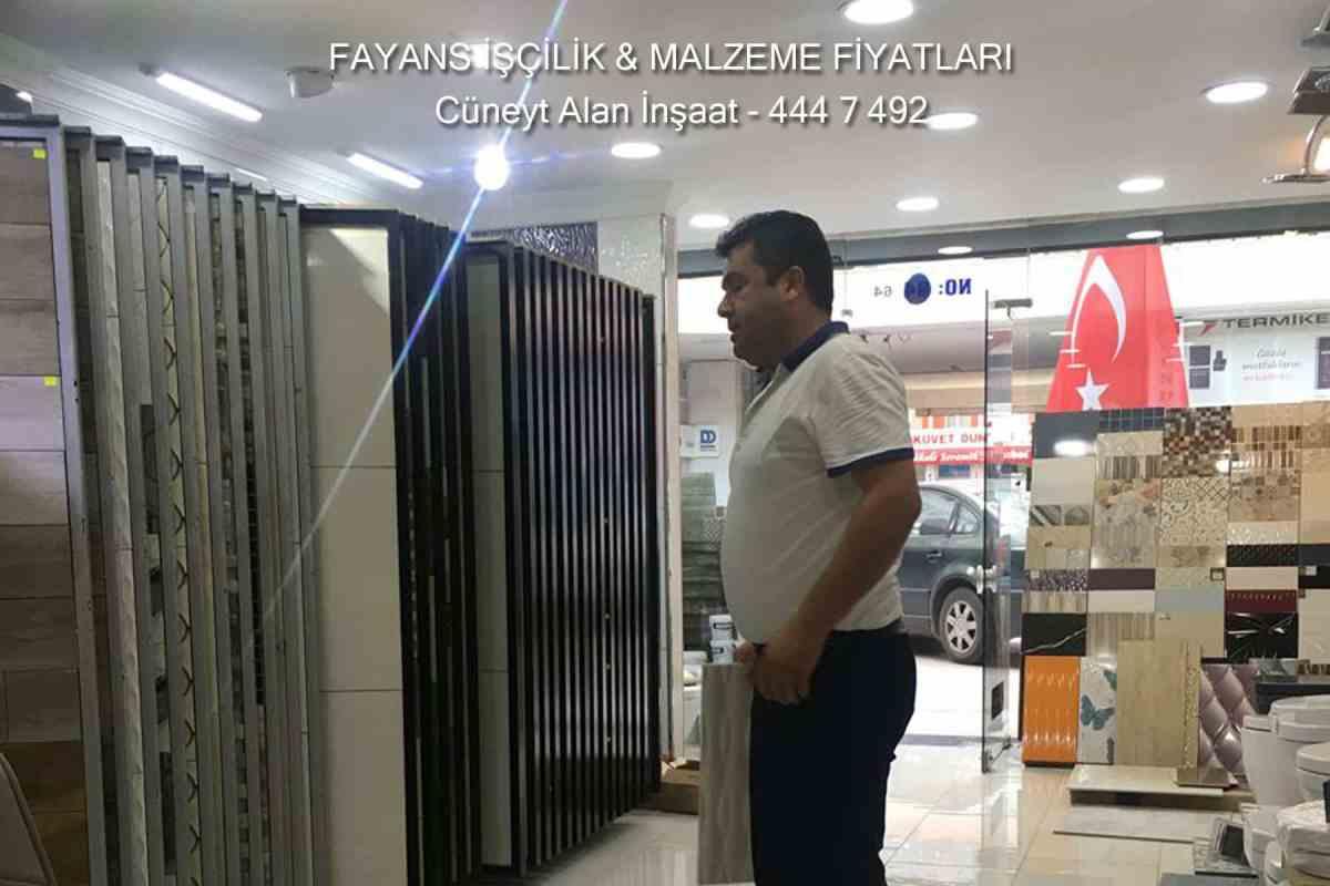 Fayans Fiyatları