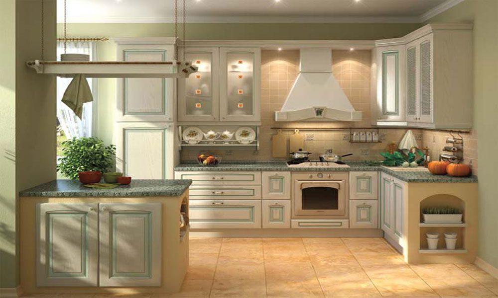 ahşap mutfak dekorasyon örneği11