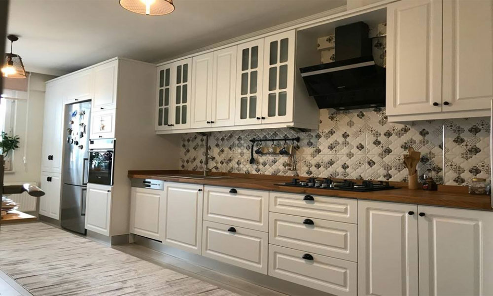 ahşap mutfak dekorasyon örneği15