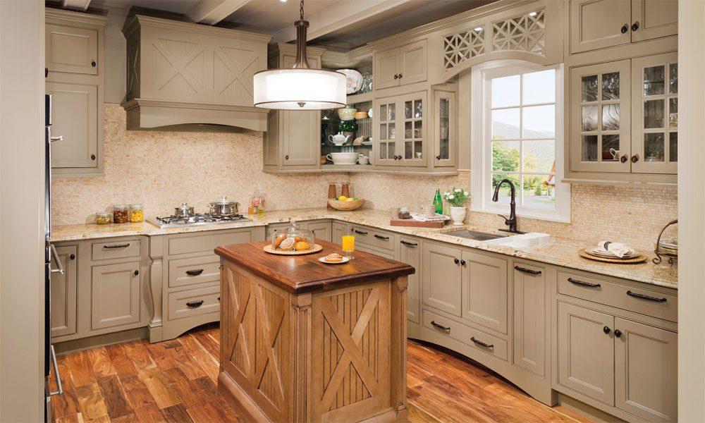ahşap mutfak dekorasyon örneği16