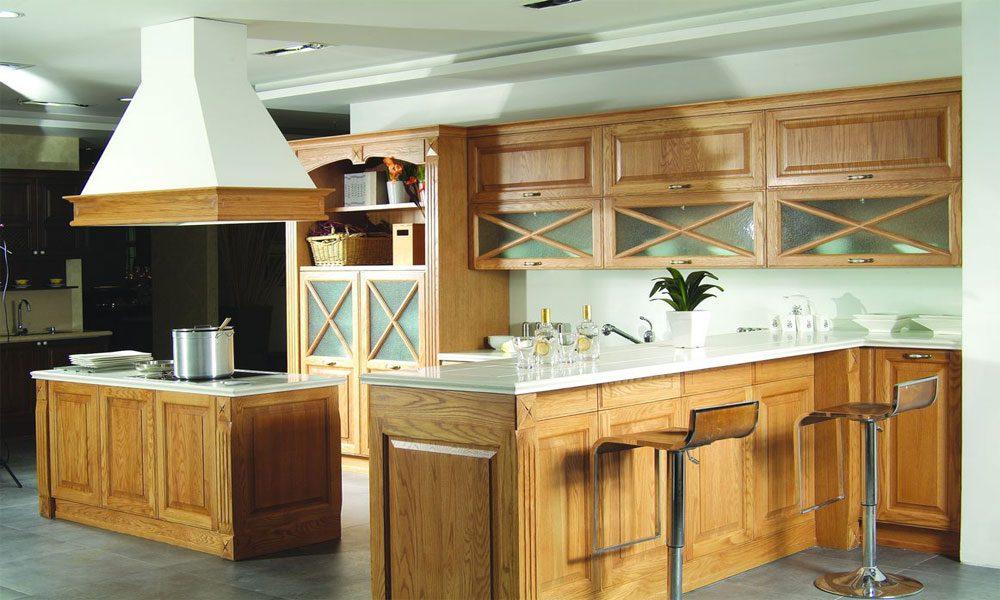 ahşap mutfak dekorasyon örneği9
