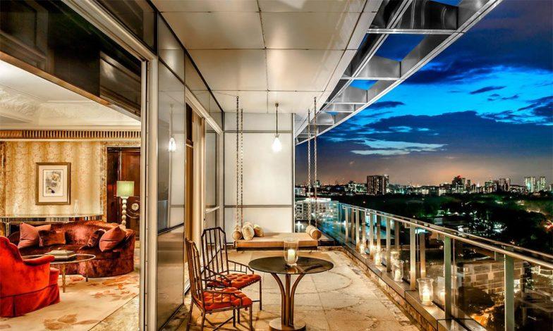 modern balkon dekorasyonu