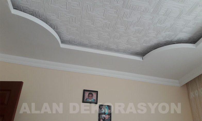 Işık bandı ve tavan kaplama çalışmamız 8