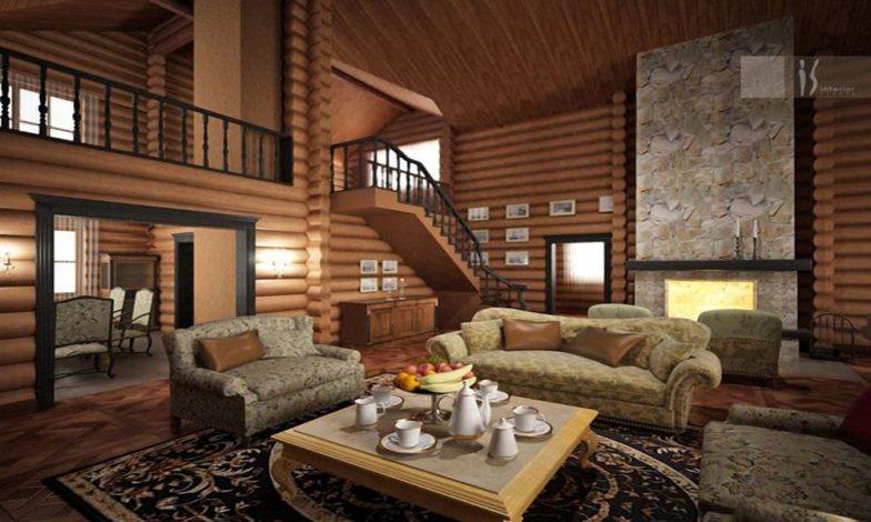 dağ evi dekorasyon
