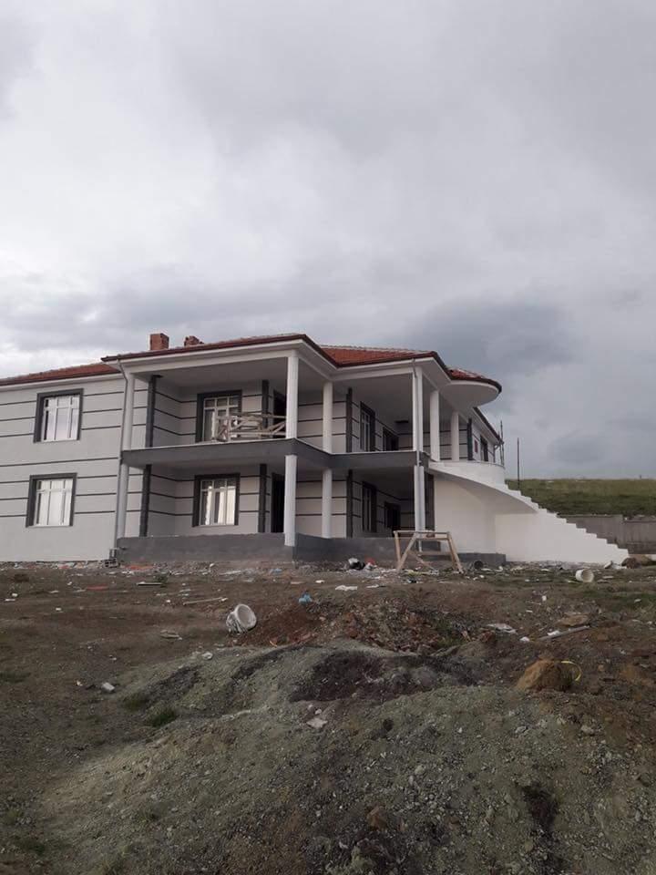 İki katlı temelden çatıya betonarme ev inşaatı çalışmamız