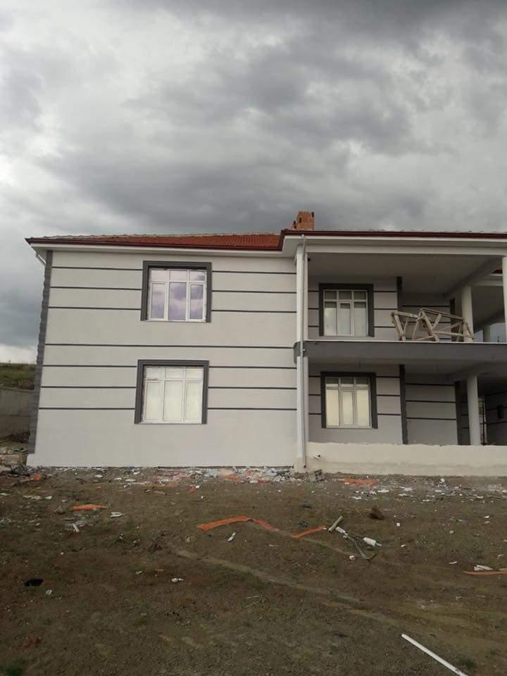 İki katlı temelden çatıya betonarme ev inşaatı çalışmamız3