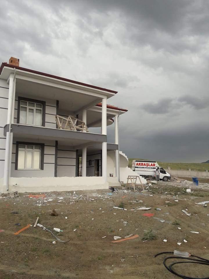 İki katlı temelden çatıya betonarme ev inşaatı çalışmamız1