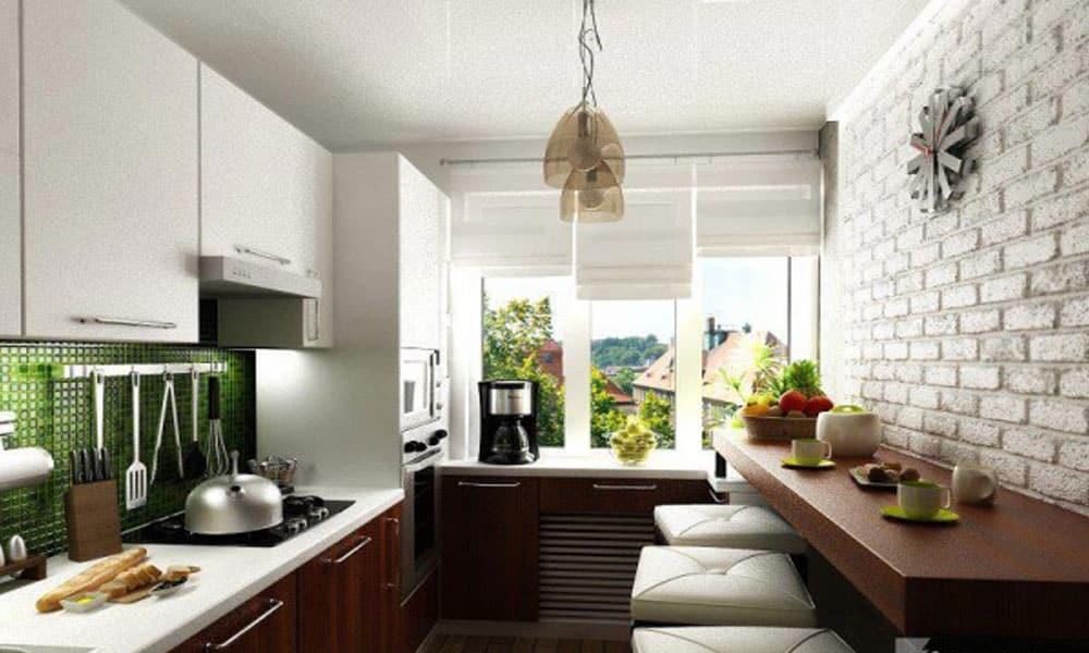 duvara monte mutfak masası