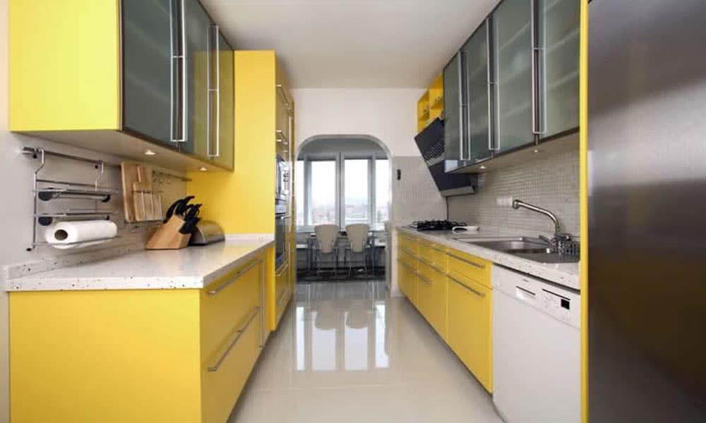 uzun mutfak dekorasyon örneği2
