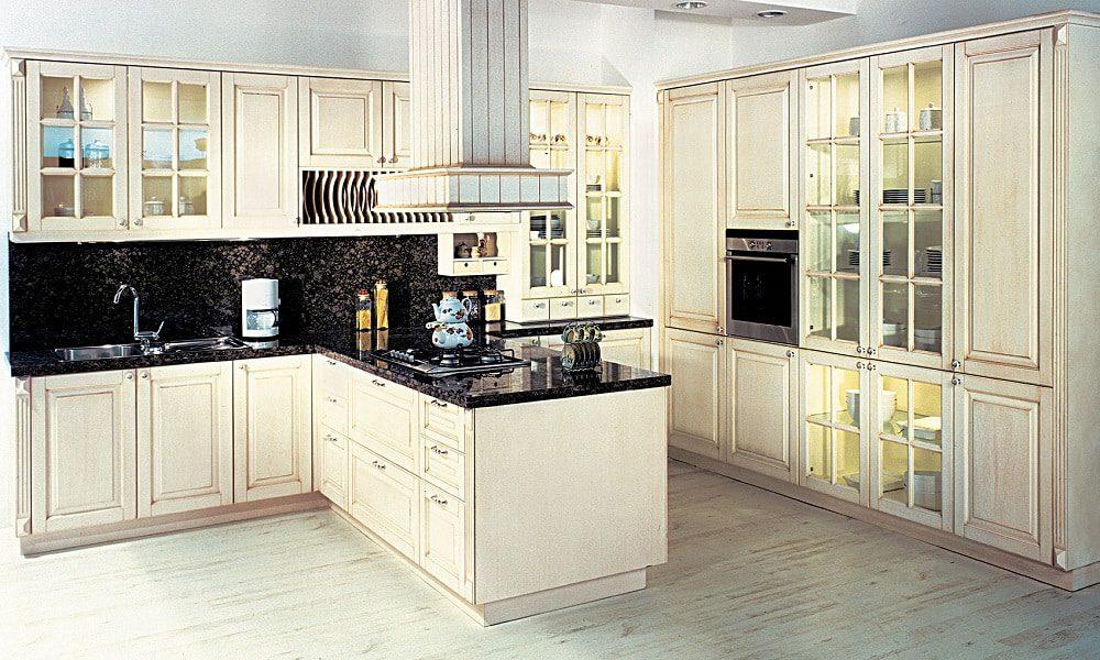 modern ahşap mutfak modeli16