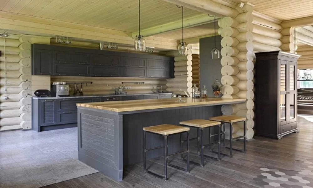 modern ahşap mutfak modeli20
