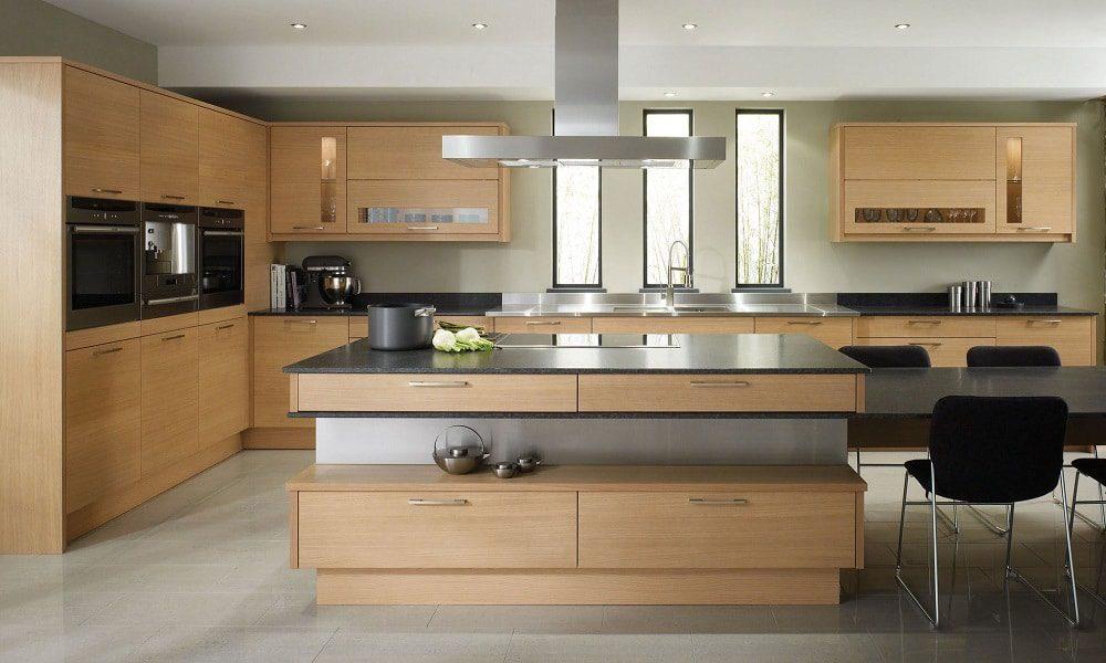 modern ahşap mutfak modelist30