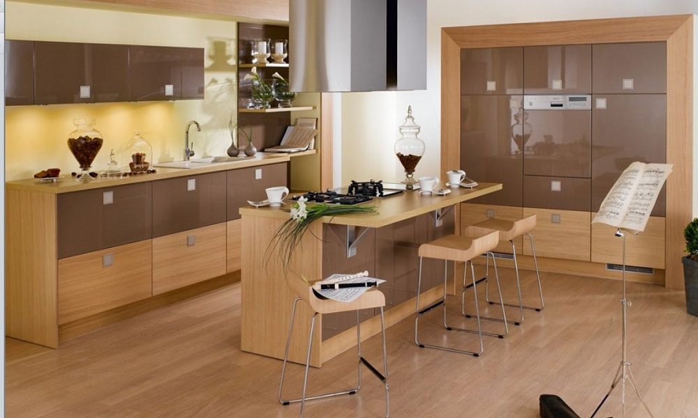 modern ahşap mutfak modeli4
