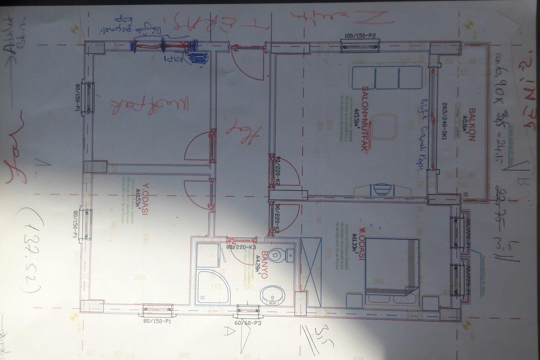 Çanakkale anahtar teslim ev inşaatı