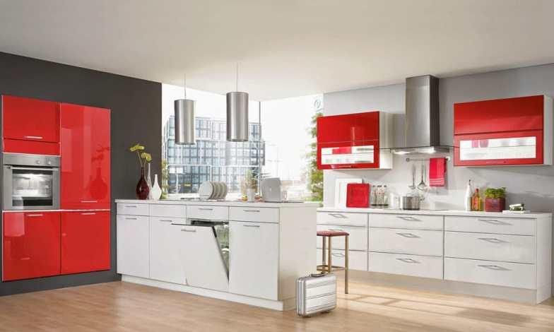 iki renkli mutfak dekorasyonu