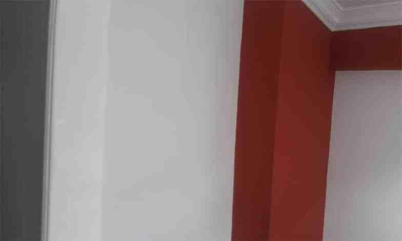 Tüm daire iç tavan ve duvarları tamiratları yapıldıktan sonra boyanacak.