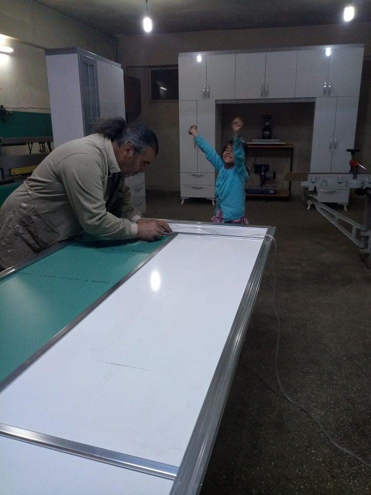 Vestiyer sürgülü kapak imalatımız 1