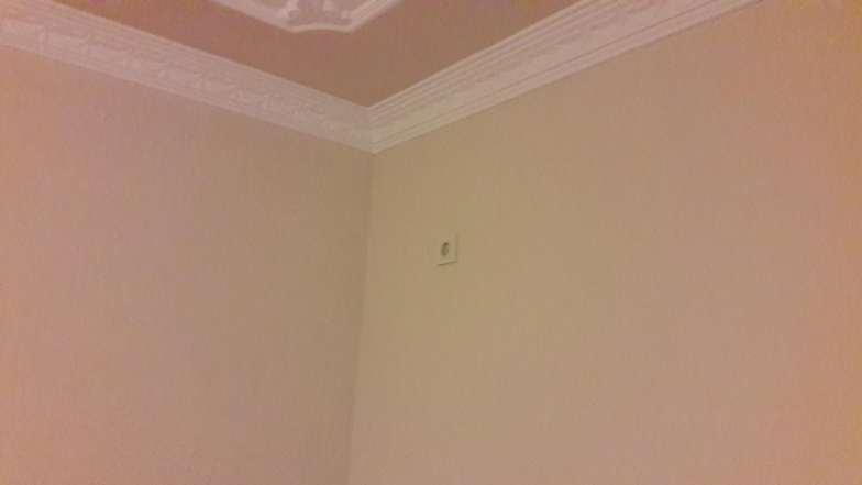 Tüm tavan ve duvarları boyayacağız