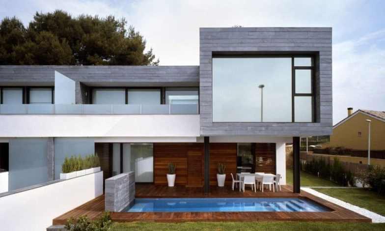 İki katlı ev ve villa modelleri 17