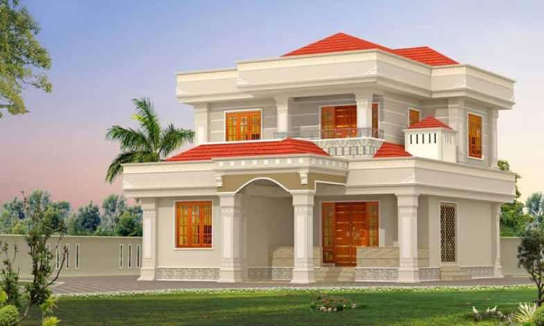 İki katlı ev ve villa modelleri 19