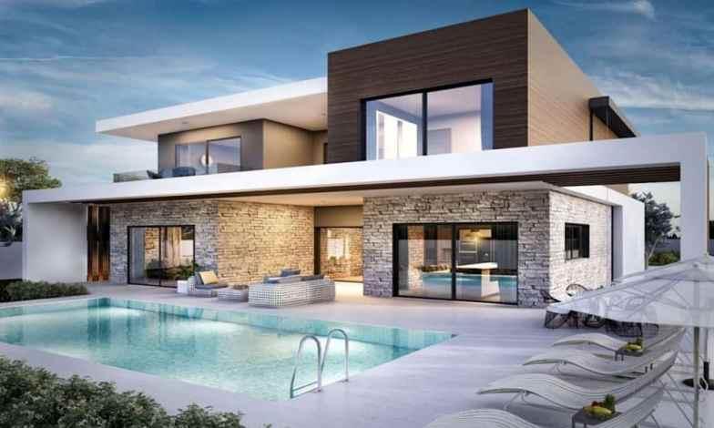 İki katlı ev ve villa modelleri 2