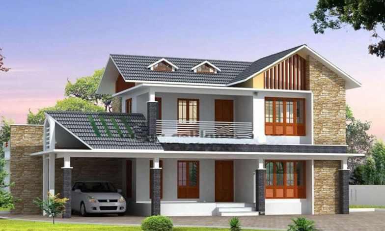 İki katlı ev ve villa modelleri 3