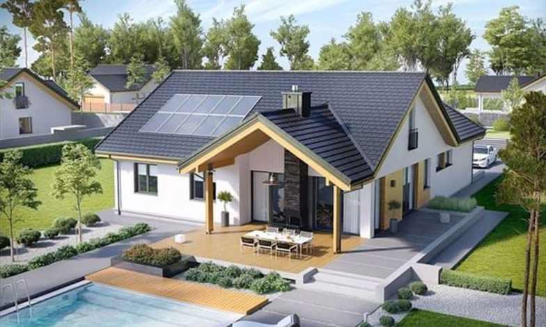 Tek katlı müstakil ev projeleri 8