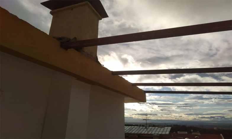 Teras çelik kargas imalatımız1