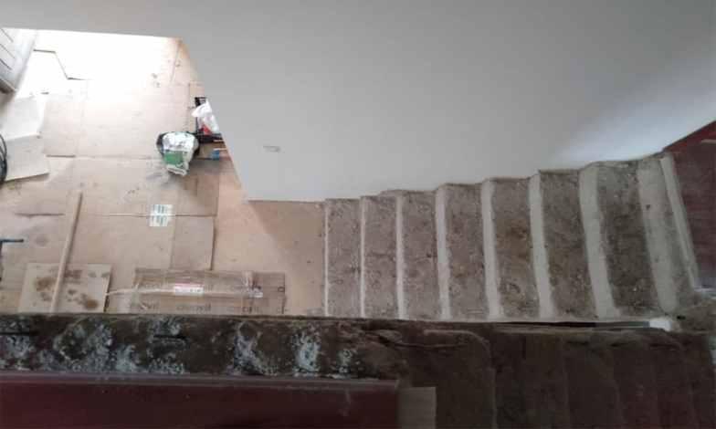Ahşap merdiven kaplama2
