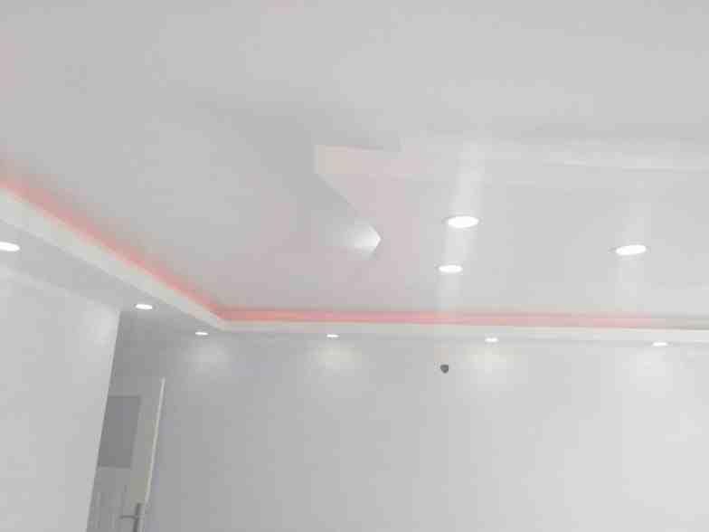 Renkli alçıpan tavan aydınlatmaları6